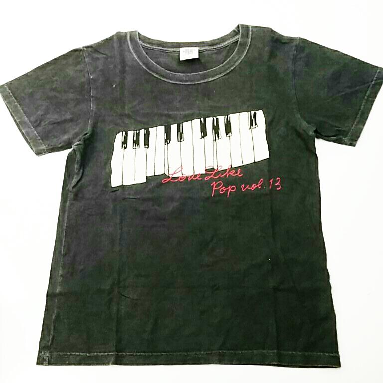 aiko LLP13 Live TOUR Love Like Pop vol13 ピアノ Tシャツ グレー ドチビ グッズ 2600