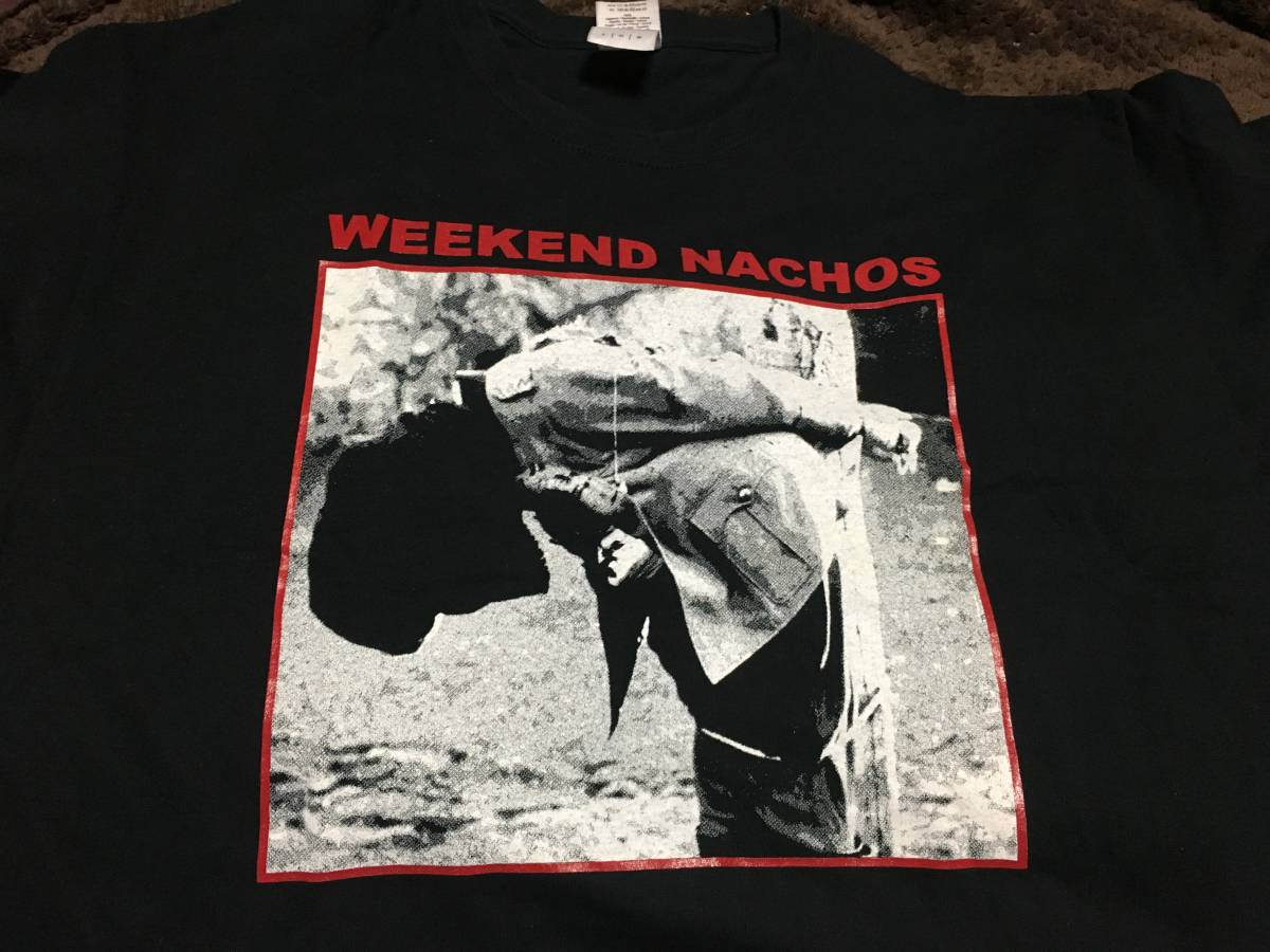 Weekend Nachos Tシャツ サイズL NYHC FIGHT IT OUT ALL OUT WAR INTEGRITY Second To None