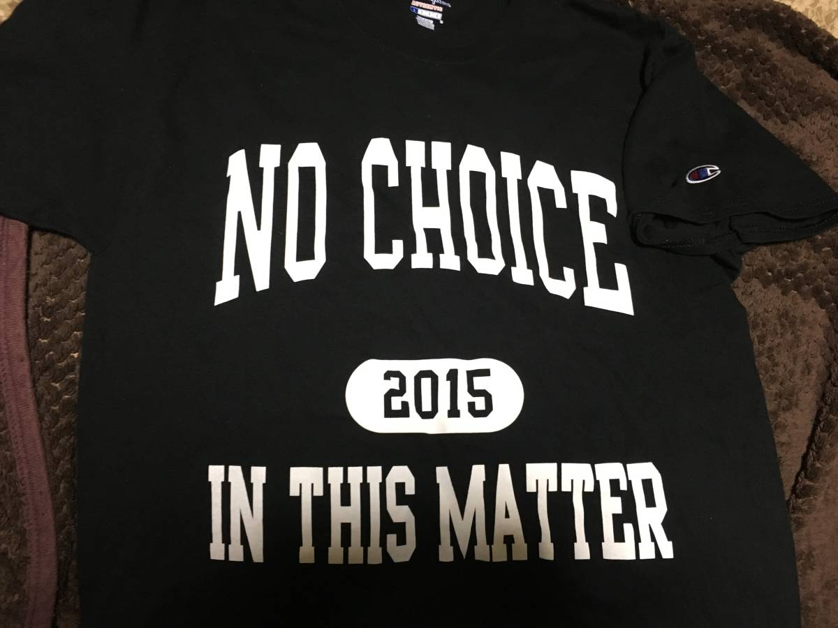 NO CHOICE IN THIS MATTER Tシャツ サイズL NYHC YOUTH OF TODAY ALL OUT WAR INTEGRITY Second To None