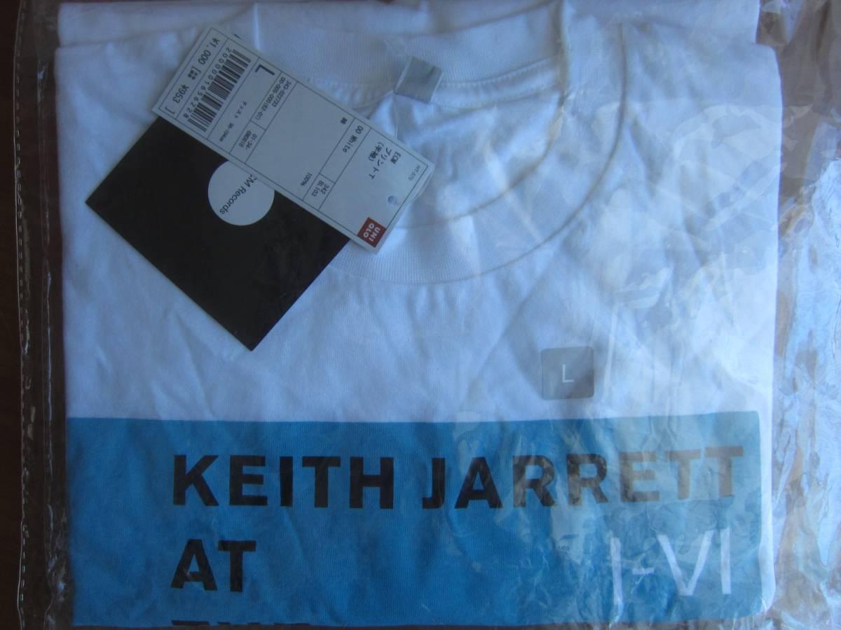 未使用 タグ付き Lサイズ キース・ジャレット 半袖Tシャツ KEITH JARRETT  ユニクロ