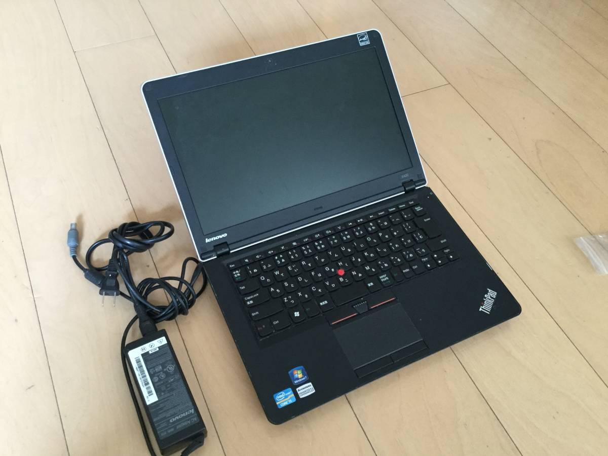 ジャンク thinkpad E420本体 メモリ無し HDD無し
