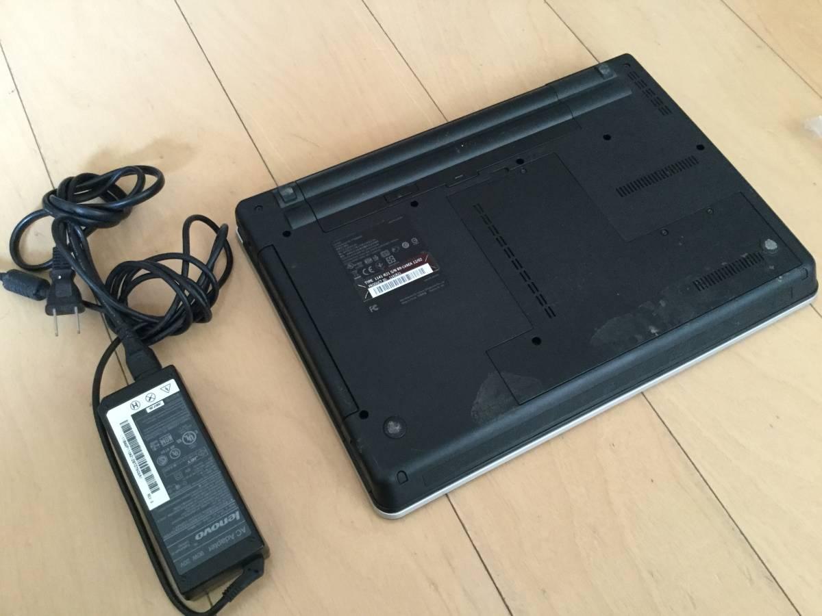 ジャンク thinkpad E420本体 メモリ無し HDD無し_画像3