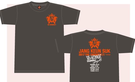 グンちゃん チャングンソク JANG KEUN SUK THE CRISHOW Ⅳ Voyage 公式グッズ Tシャツ zikzin