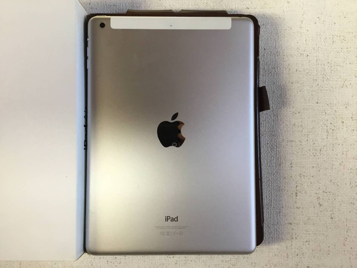 iPadAir MD794J/A iPad WiFi CELL 16GB Silver_画像2
