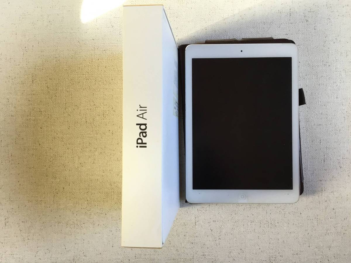 iPadAir MD794J/A iPad WiFi CELL 16GB Silver_画像3