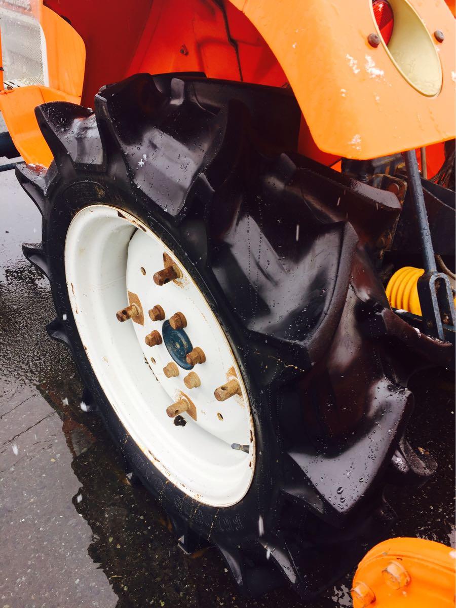 岩手 クボタ L2002-M トラクター 自動水平 ハロー付き 中古 実動 現状 売切り 【B2903801205】 BMトレーディング水沢_画像9