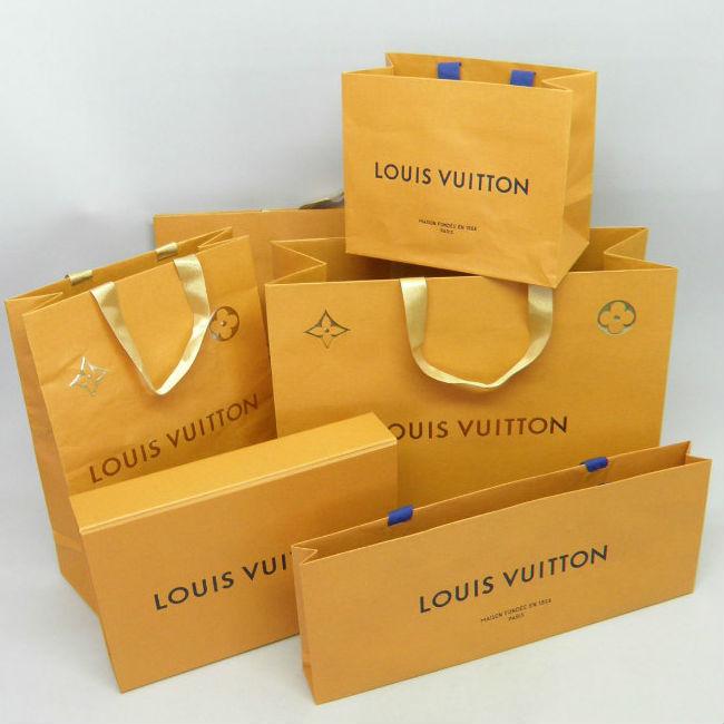 ■ブランドショッピングバッグ・紙袋・空箱 /ルイヴィトン/紙袋5・空き箱1!