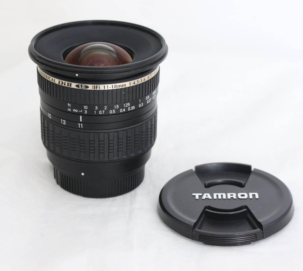 超広角★ニコン Nikon用タムロン SP AF11-18mm F4.5-5.6 Di II LD Aspherical IF レターパック
