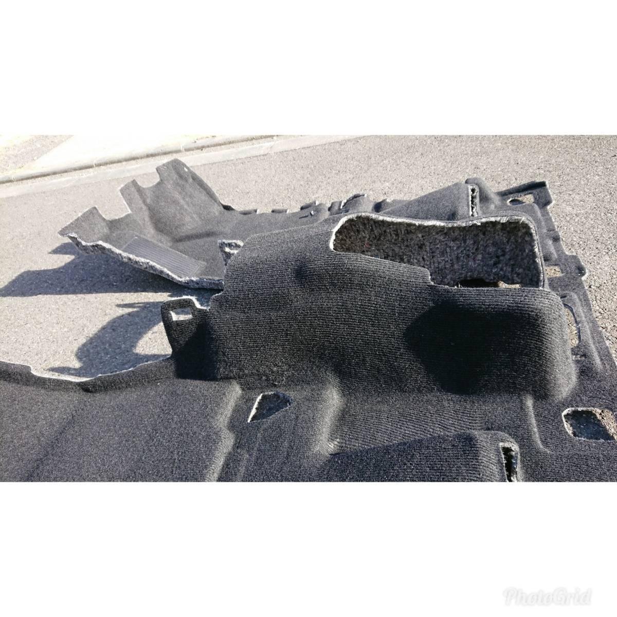 30 アルファード ヴェルファイア 大型ハイグレードコンソール用 フロアカーペット トヨタ純正
