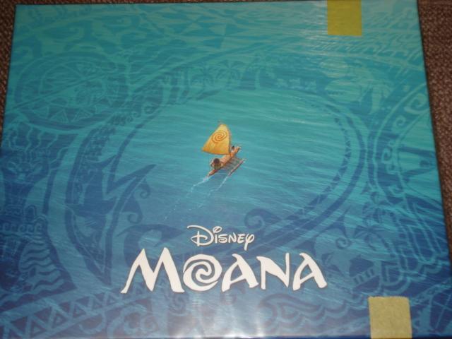 未開封Amazon限定【モアナと伝説の海MovieNEXプレミアム・ファンBOX (B6リングノート付)】ブルーレイ+DVD+デジタルコピー+MovieNEXワールド_画像2