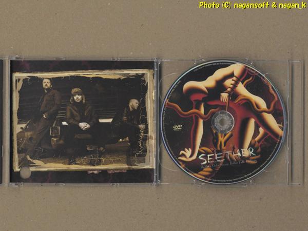 ★即決★ SEETHER (シーザー) / Holding Onto Strings Better Left to Fray - 南アフリカ共和国で結成されたバンド、2011年発表アルバム_画像4