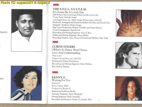 ★即決★ 「ボティーガード」 THE BODYGUARD ORIGINAL SOUNDTRACK ALBUM - ホイットニー・ヒューストン、等が歌唱_画像6