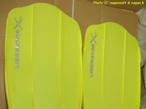 ★即決★ TUSA LIBERATOR-TEN 黄色、レギュラーサイズになるのかな?製品型番不明、明確なサイズ不明なのでジャンク品とします_画像7