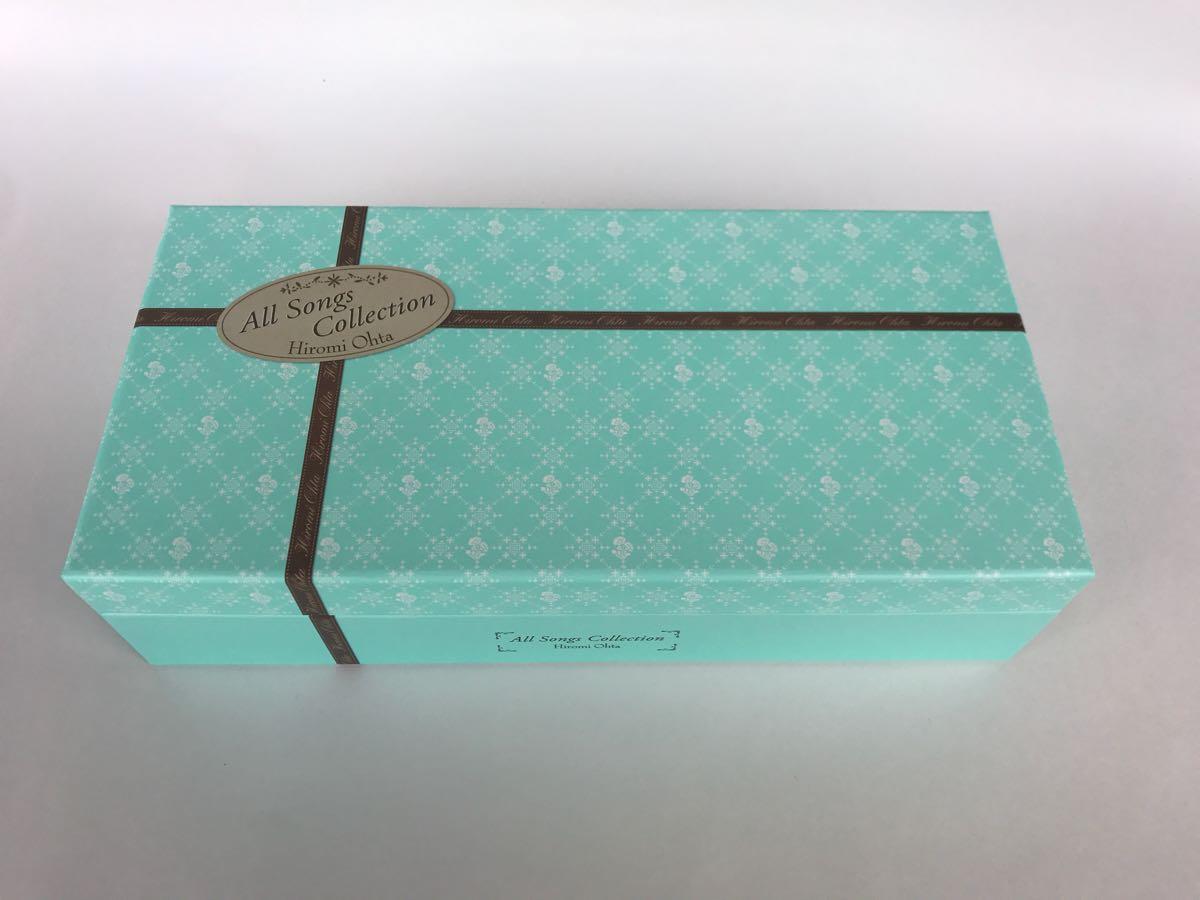 【箱のみ】 太田裕美 All Songs Collection オール・ソングス・コレクション CDボックスの外箱のみ