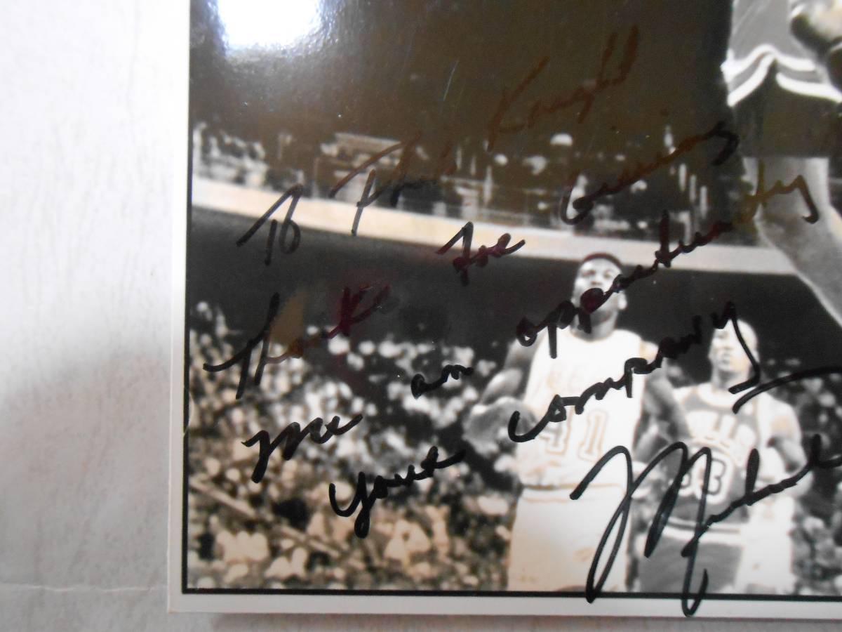 歴史的超お宝 マイケルジョーダンがNIKEとの契約に対してNIKE創業者フィル・ナイトへ感謝の言葉を書いて贈った感謝状・イチロー大谷翔平_画像9