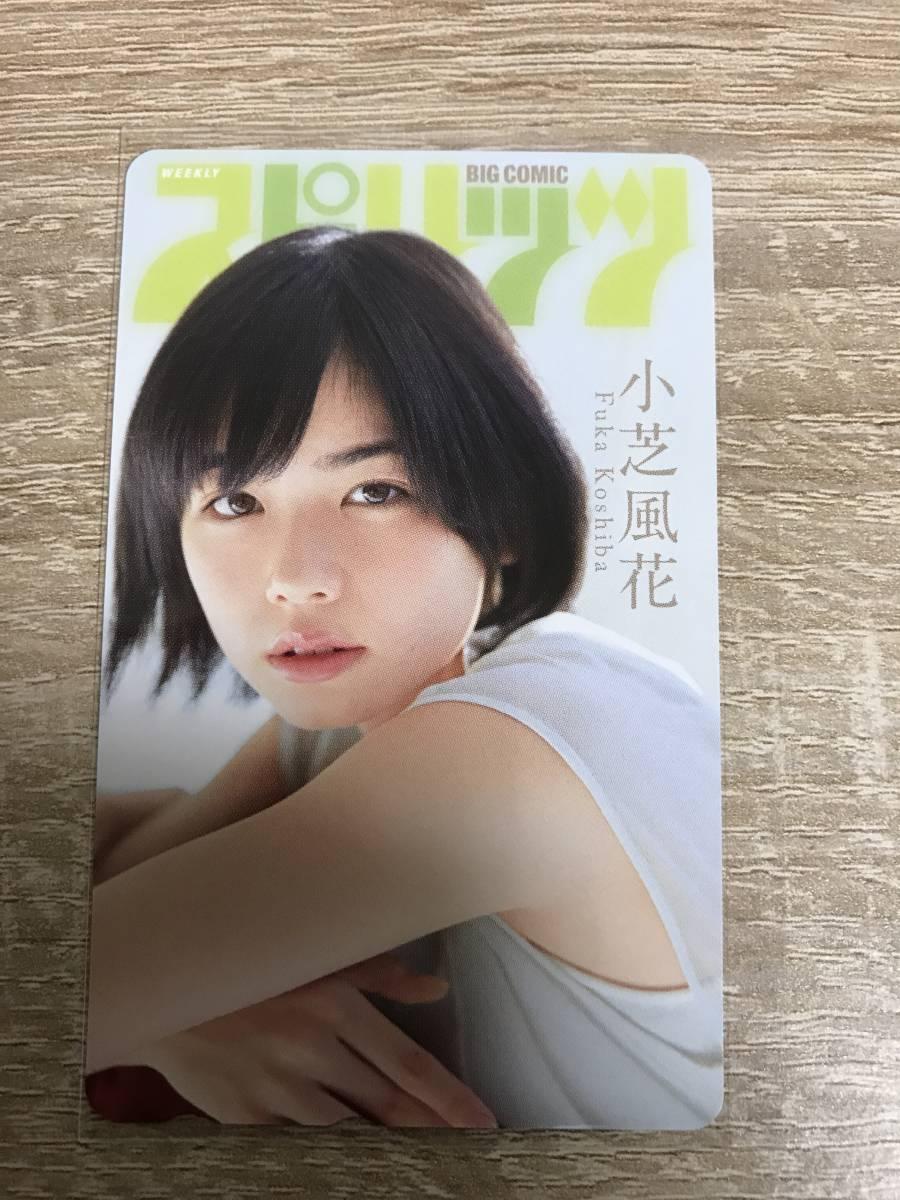 小芝風花 ビッグコミックスピリッツ2014年12号 QUOカード 当選証書付 クオカード No.15
