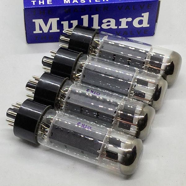 600 Mullard EL34 / 6CA7 4本!(内1本ジャンク)_画像4