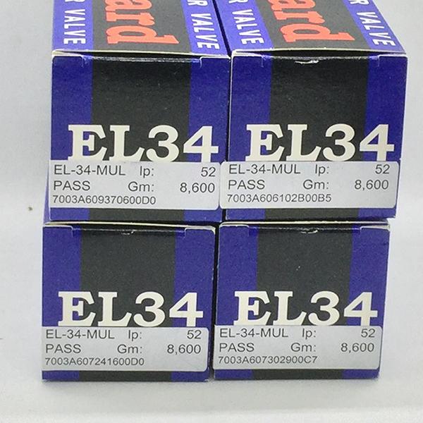 600 Mullard EL34 / 6CA7 4本!(内1本ジャンク)