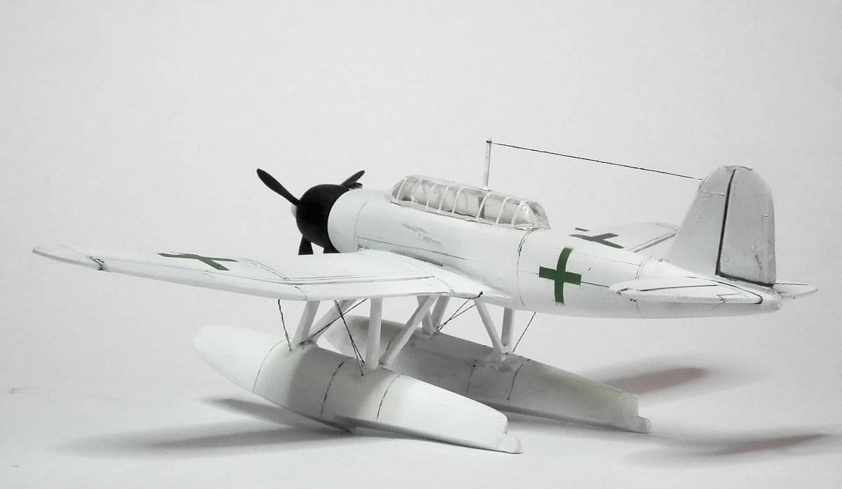 1/144  零式水上偵察機 緑十字機 完成品_画像6