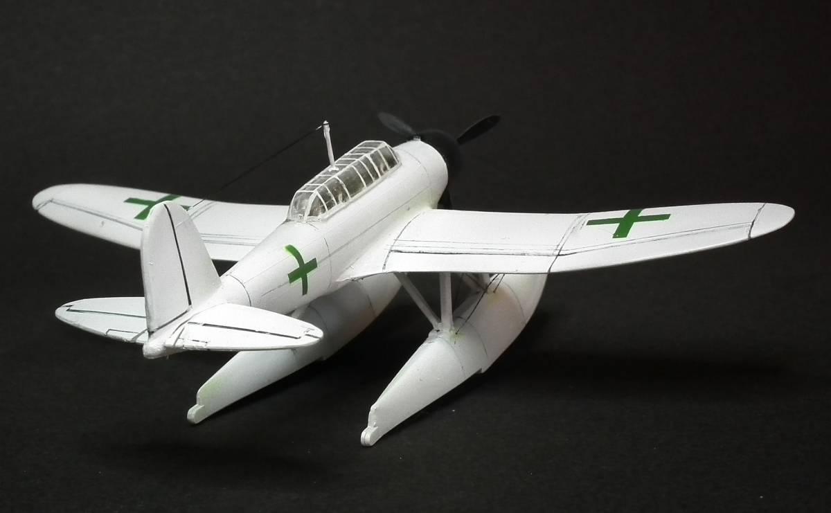 1/144  零式水上偵察機 緑十字機 完成品_画像8