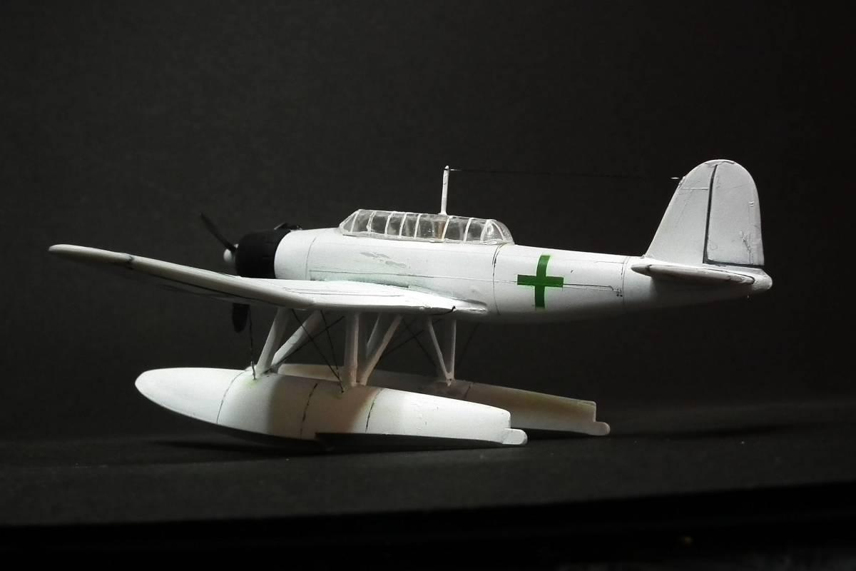 1/144  零式水上偵察機 緑十字機 完成品_画像7