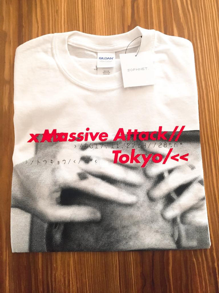 MASSIVE ATTACK Tシャツ SOPHNET. 新品未開封