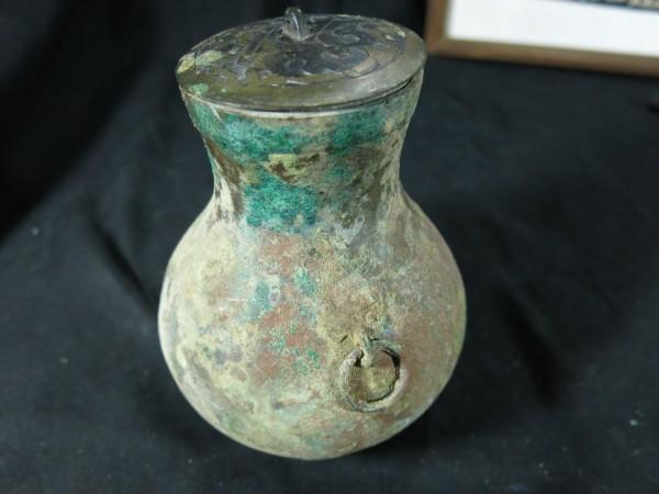A 中国青銅器 戦国時代 本物 金工 彫刻 青銅製 発掘品_画像2