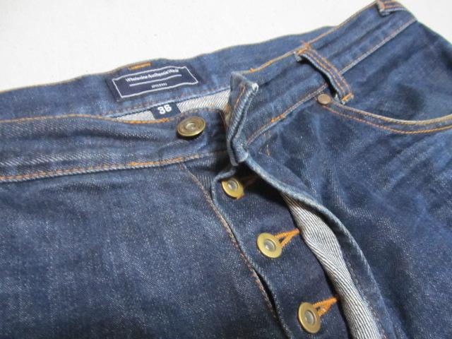 大きいサイズ メンズ Wholenine Authentic Wear ホールナイン デニム ハーフパンツ ボタンフライ サイズ 362