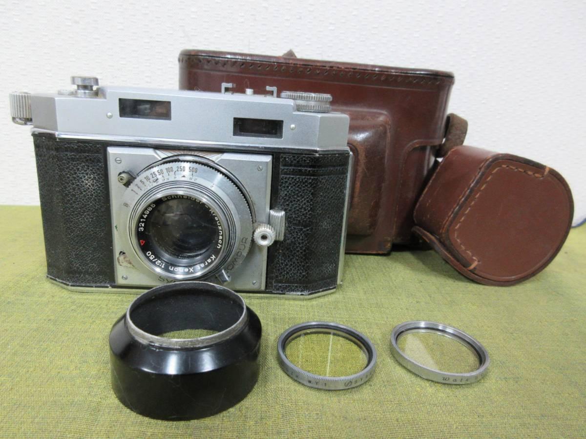 ◆Agfa Karat36フィルムカメラ ケース付 レトロ ジャンク レア