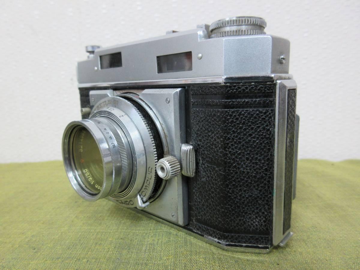 ◆Agfa Karat36フィルムカメラ ケース付 レトロ ジャンク レア_画像3