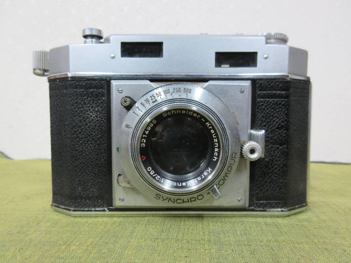 ◆Agfa Karat36フィルムカメラ ケース付 レトロ ジャンク レア_画像4