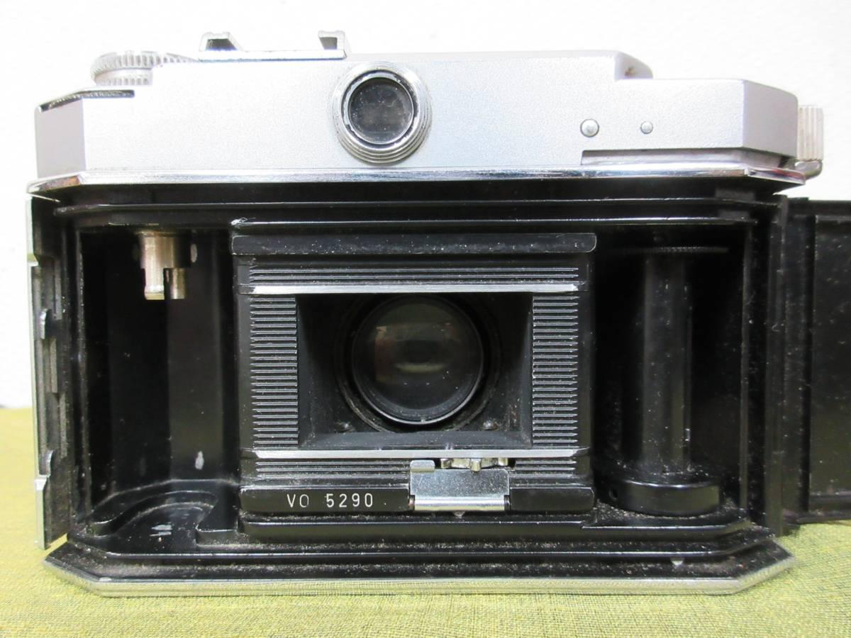 ◆Agfa Karat36フィルムカメラ ケース付 レトロ ジャンク レア_画像6