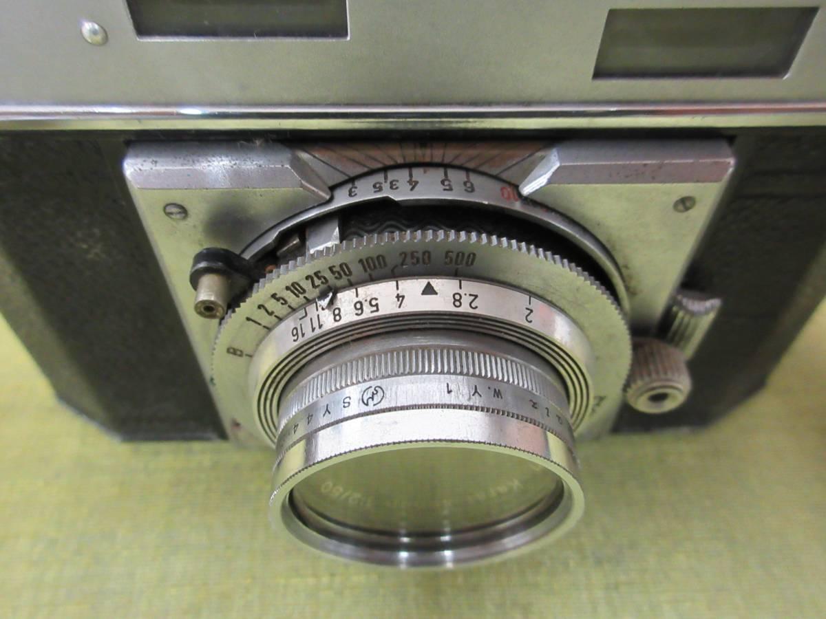 ◆Agfa Karat36フィルムカメラ ケース付 レトロ ジャンク レア_画像9