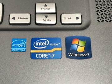 ★DELL XPS/15Z Windows7 COREi7 中古品 本体のみ ジャンク_画像3