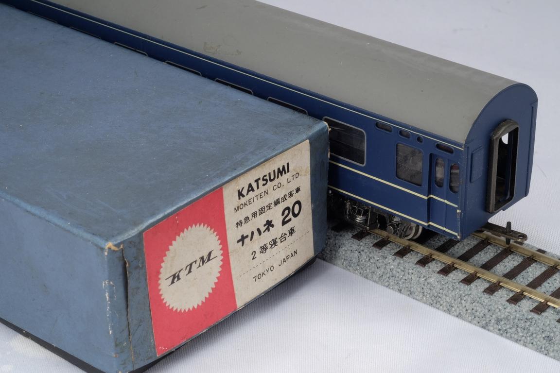 KTM カツミ 16番 HO 国鉄 20系 ブルートレイン 寝台車 ナハネ 20 現状 中古品
