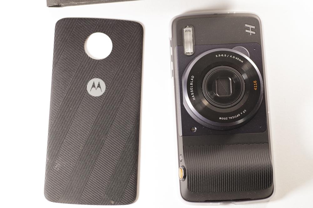 モトローラ Moto Z(SIMフリー海外版) + ハッセルブラッド True Zoom_画像2