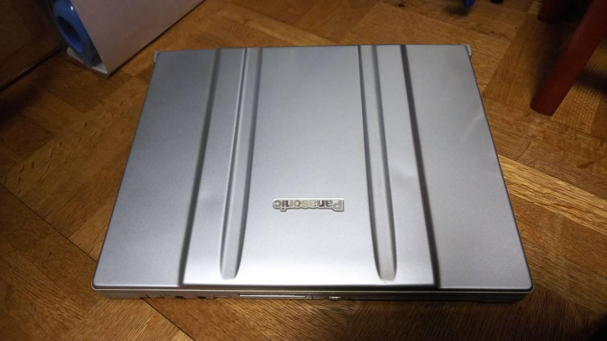 ◆◇[ジャンク]Panasonic Let's note CF-W7 メモリ2GB 12.1型液晶 Windows 7 Professional◇◆_画像5