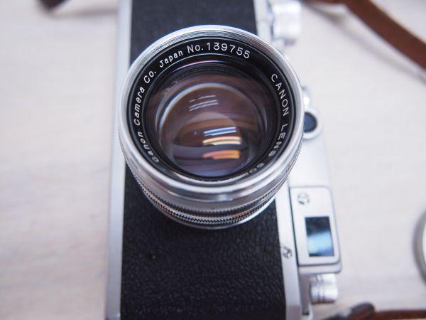 ※ジャンク品※ Canon キヤノン IID改 2D改型 カメラケース付 フィルムカメラ 一眼レフ F012052_画像5