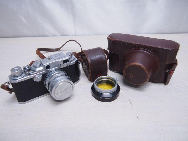 ※ジャンク品※ Canon キヤノン IID改 2D改型 カメラケース付 フィルムカメラ 一眼レフ F012052
