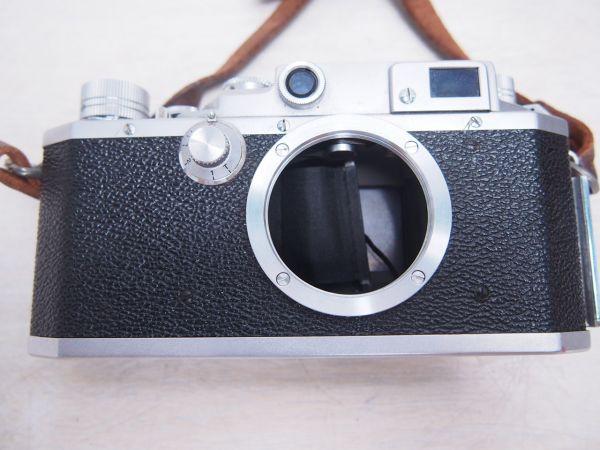 ※ジャンク品※ Canon キヤノン IID改 2D改型 カメラケース付 フィルムカメラ 一眼レフ F012052_画像2