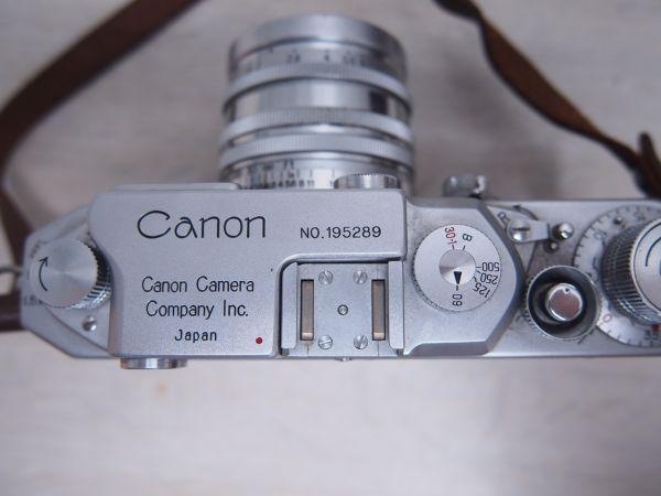 ※ジャンク品※ Canon キヤノン IID改 2D改型 カメラケース付 フィルムカメラ 一眼レフ F012052_画像4