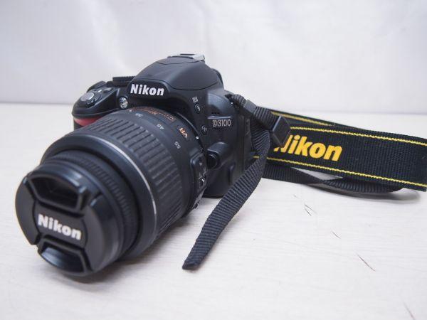 美品 Nikon ニコン D3100 ボディ+レンズ SDカード4GB付き デジタル一眼レフ カメラ ニッコール F012027