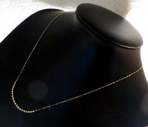 【最終処分】249-171203F27 K18 金 GOLD ゴールド ダイヤ 1.00ct ペンダント ネックレス お洒落 可愛い_画像6