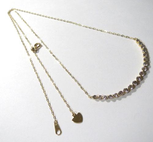 【最終処分】249-171203F27 K18 金 GOLD ゴールド ダイヤ 1.00ct ペンダント ネックレス お洒落 可愛い_画像4