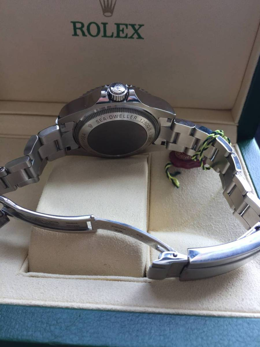ロレックス 116660 シードゥエラー ディープシー デイト ブラック/ブルー文字盤 メンズ 腕時計 中古品_画像6