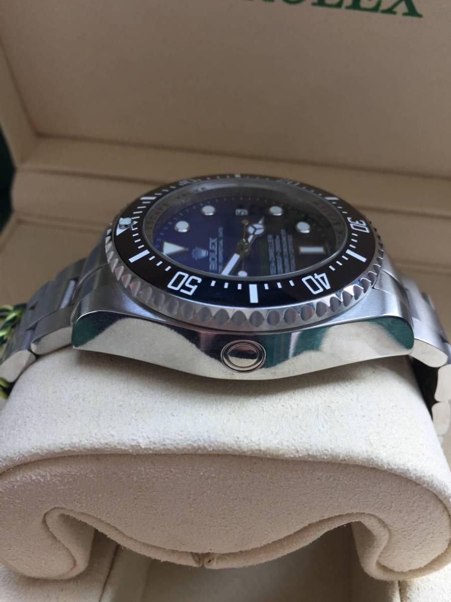 ロレックス 116660 シードゥエラー ディープシー デイト ブラック/ブルー文字盤 メンズ 腕時計 中古品_画像7