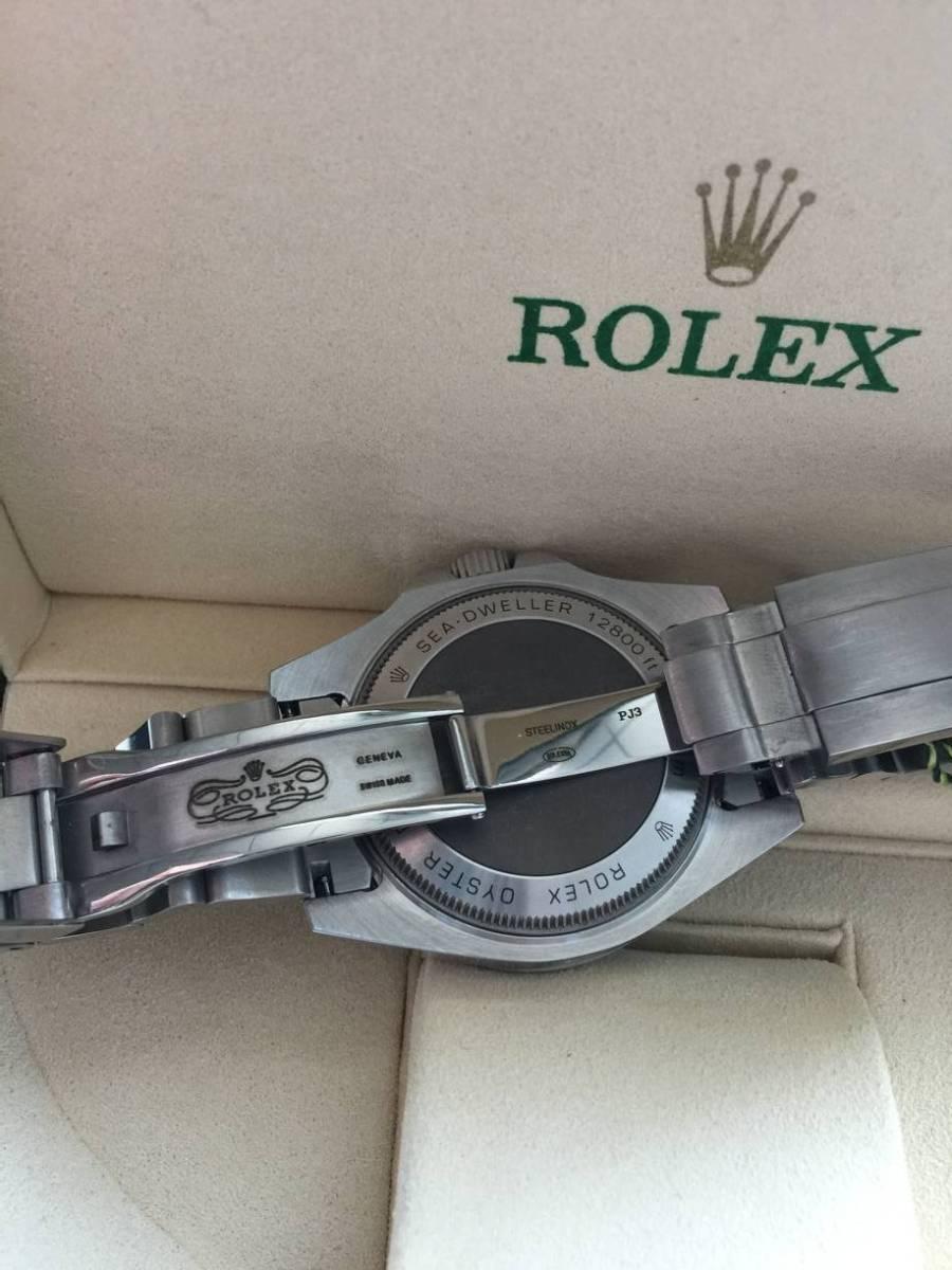 ロレックス 116660 シードゥエラー ディープシー デイト ブラック/ブルー文字盤 メンズ 腕時計 中古品_画像3