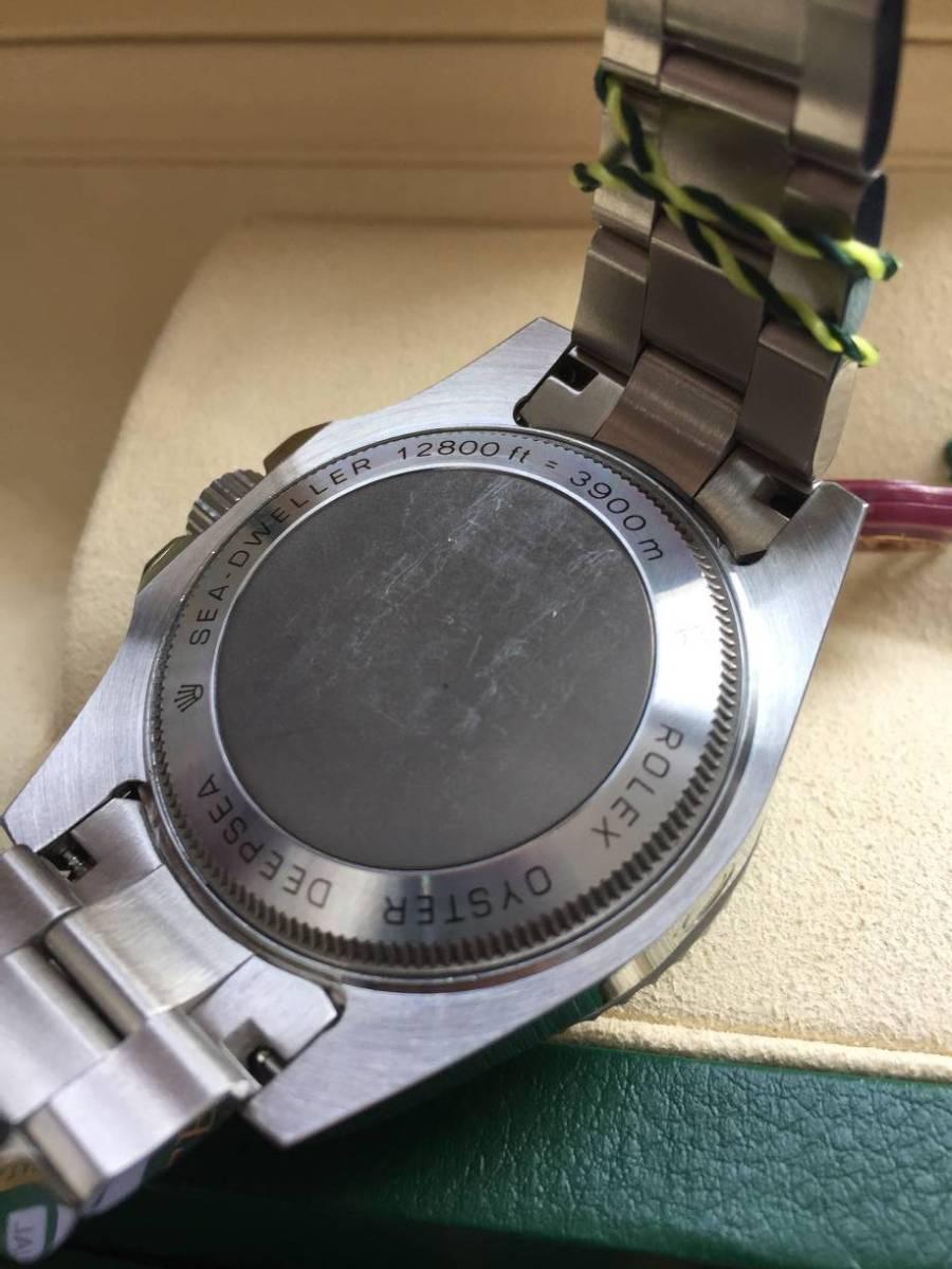 ロレックス 116660 シードゥエラー ディープシー デイト ブラック/ブルー文字盤 メンズ 腕時計 中古品_画像8