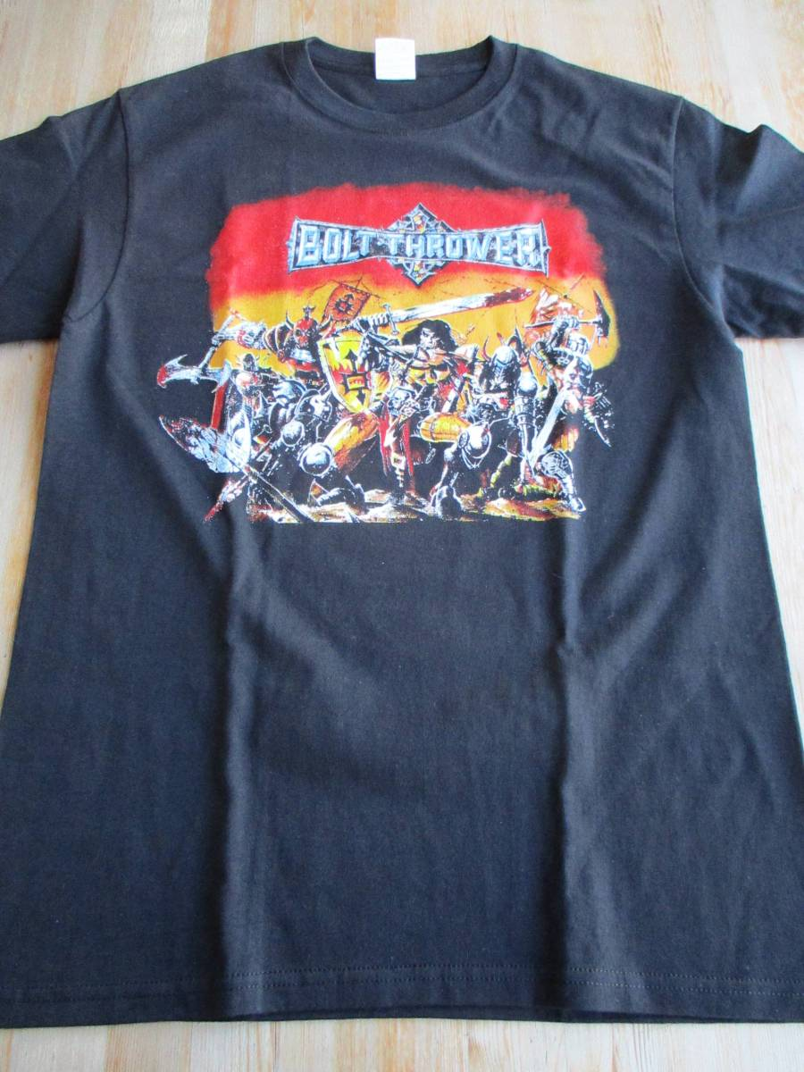 BOLT THROWER Tシャツ warmaster 黒M / carcass earache terrorizer brutal truth repulsion napalm death