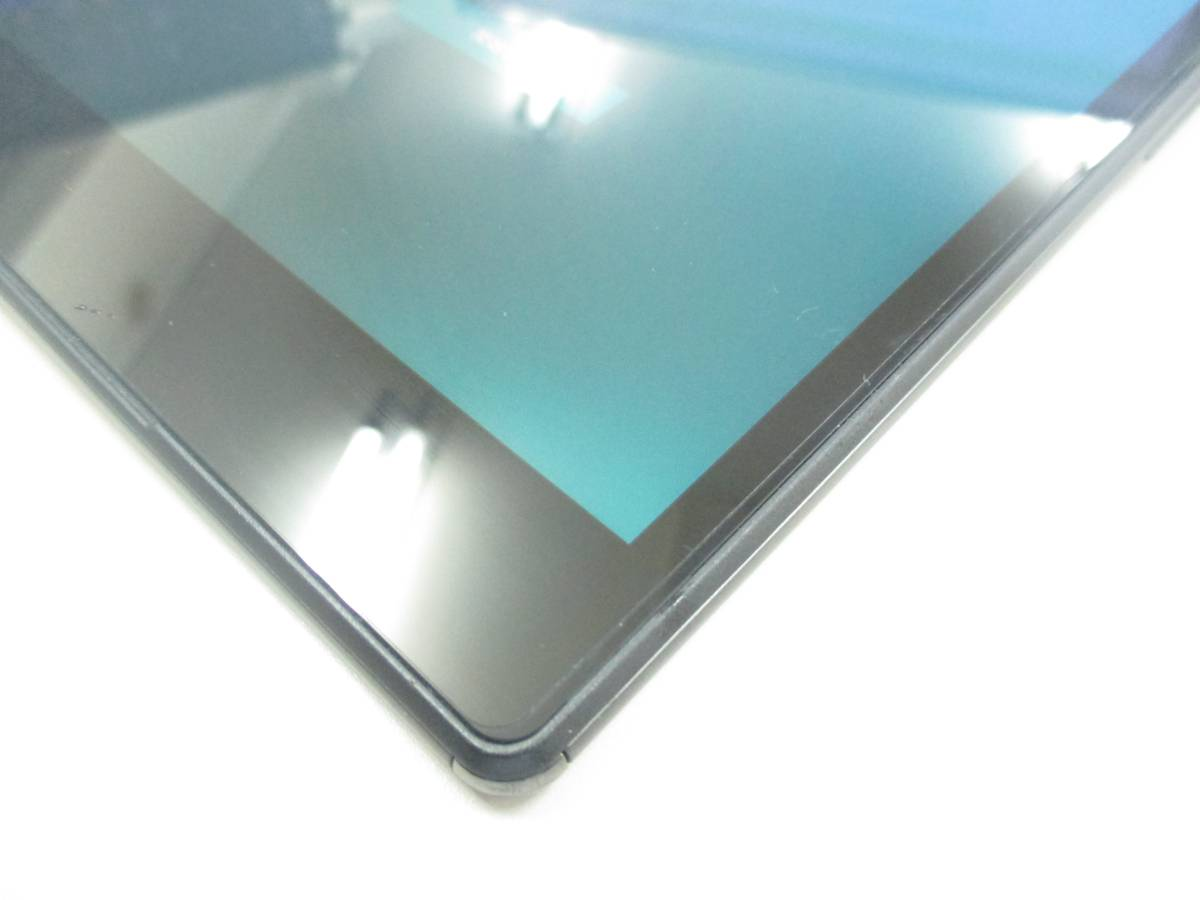 ◆◇SONY Xperia Z3 Tablet Compact Wi-Fiモデル 32GB SGP612JP/B ブラック 中古美品◇◆_画像2